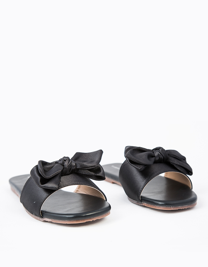 RIBBON DETAIL SANDAL FLATS #25581
