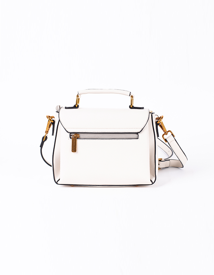 ICONIC LOGO FLAP SATCHEL #25944