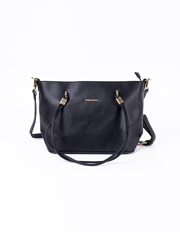 CLASSIC STRUCTURED TOP HANDLE TOTE BAG #25998