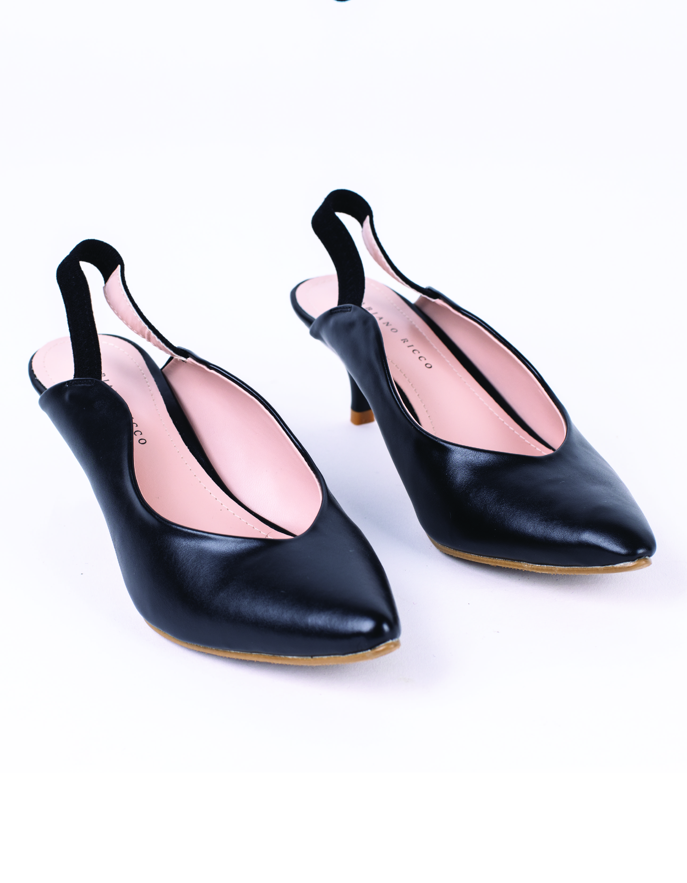 CUT OUT POINTED TOE SLINGBACK #26037