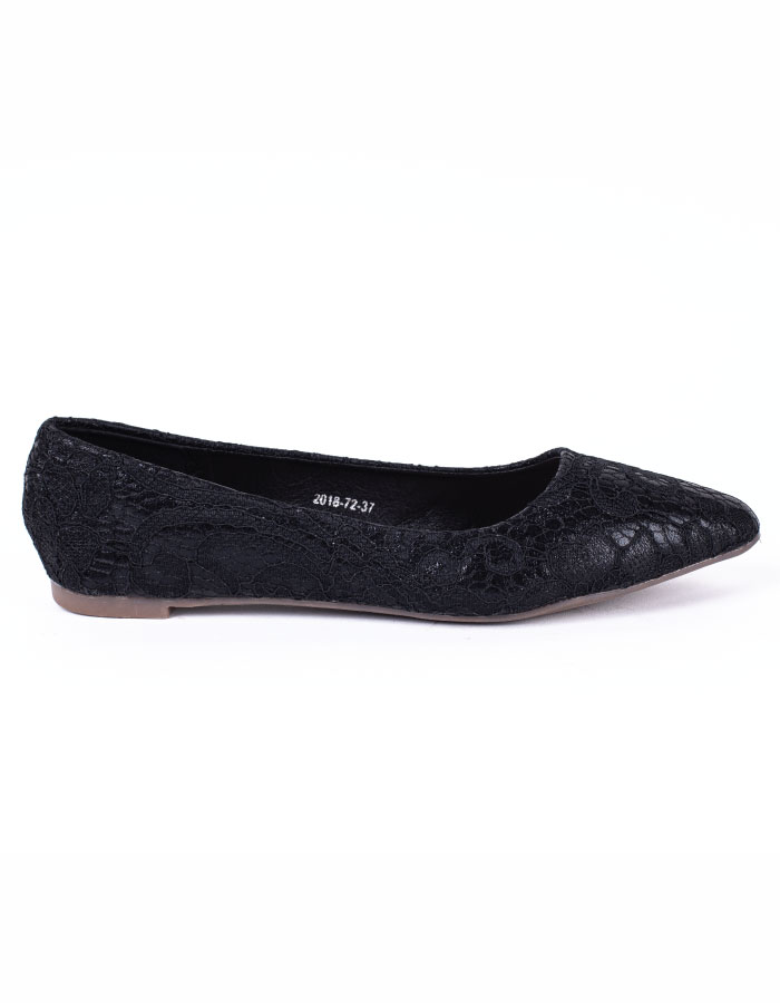 CROCHET LACE POINTED TOE #26043