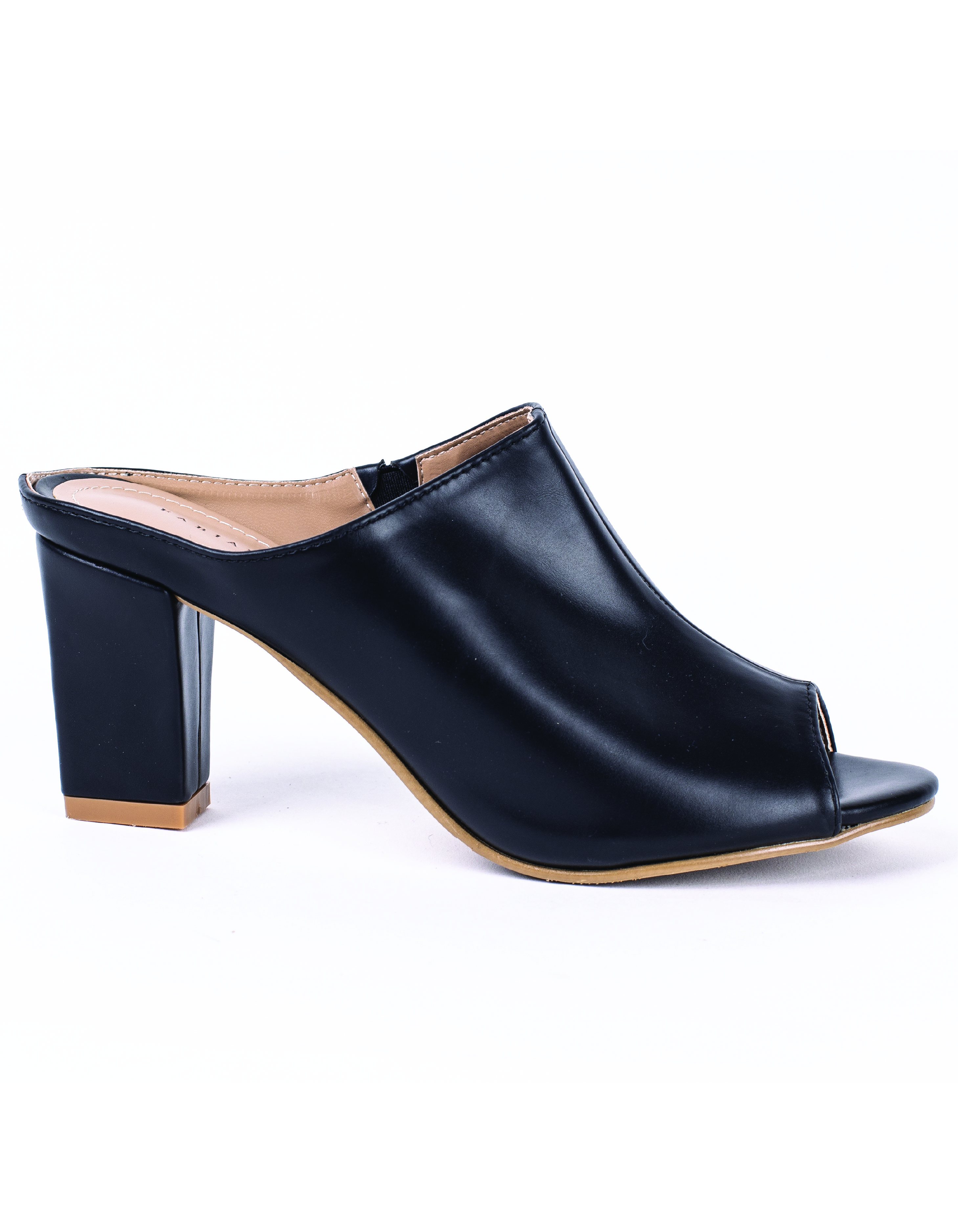 FAUX LEATHER MULES #26075