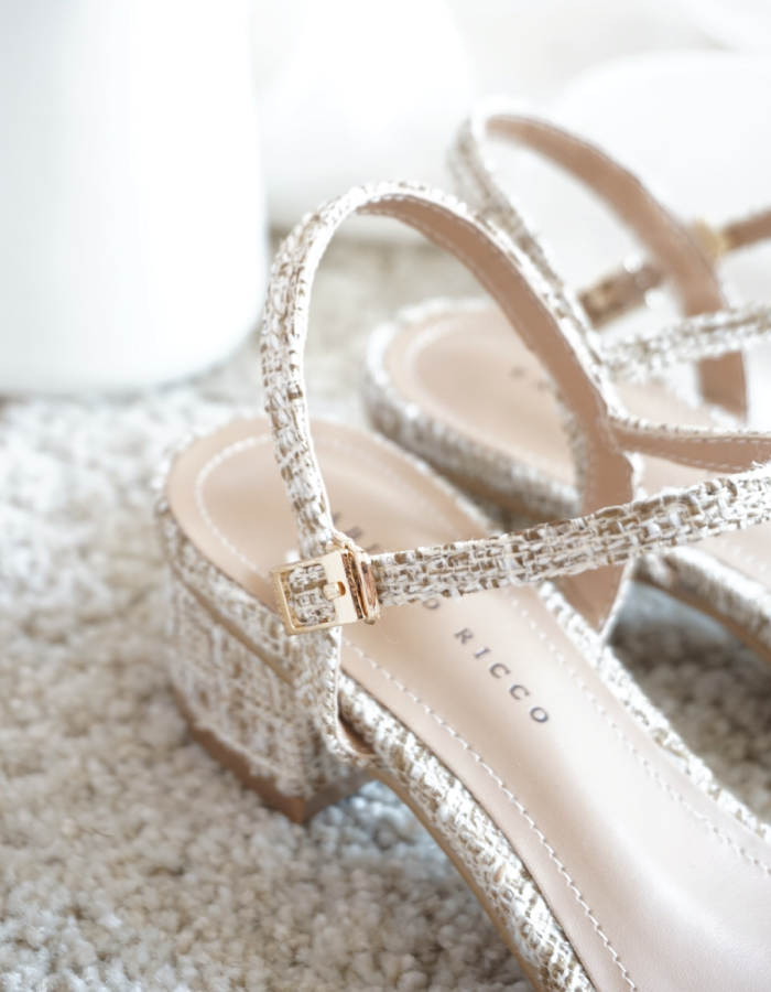 CLEAR FRONT PANEL SANDALS #26334
