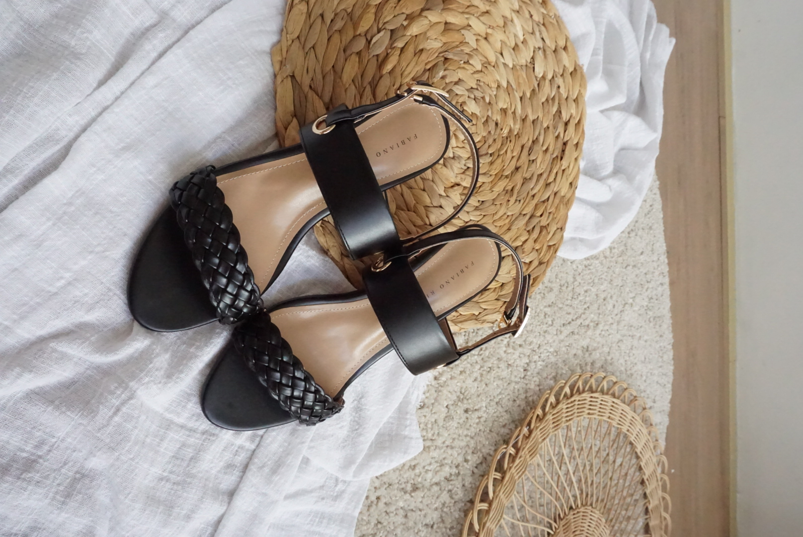 BRAIDED SUMMER HEELS #26457
